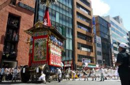 "【Gion Festival (Matsuri) 2019】Time schedule & Parade course of ""Yama Hoko Junko"" in Gion festival 2019"