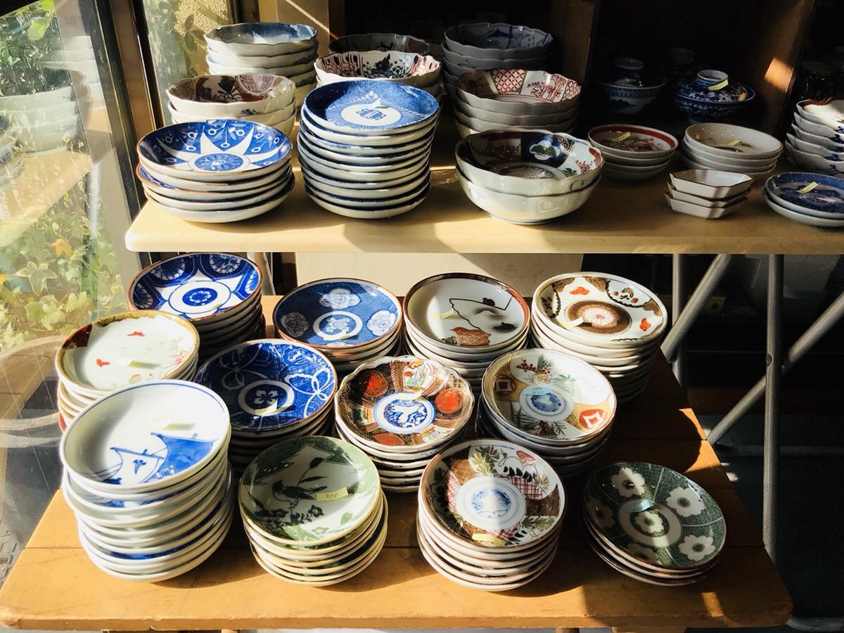 骨董品のお皿1