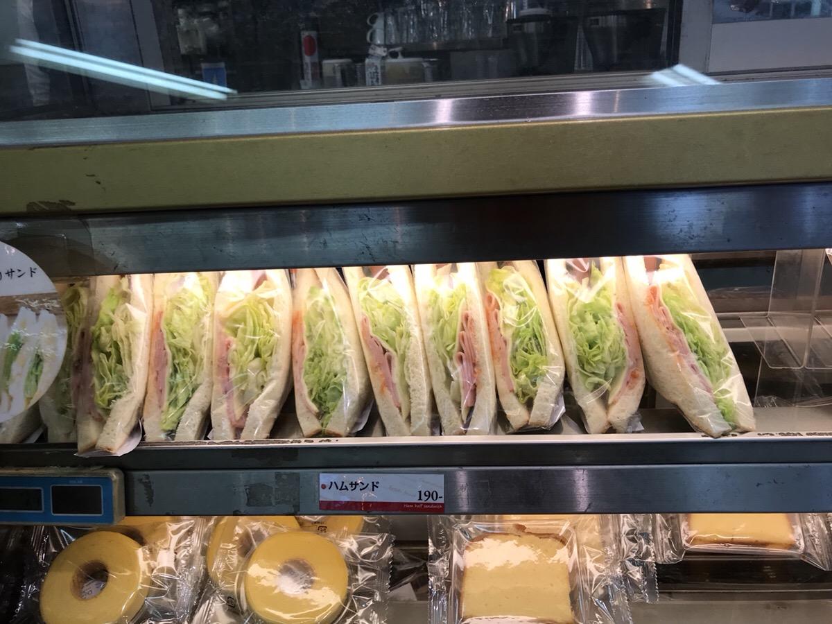 ホリーズのサンドイッチ
