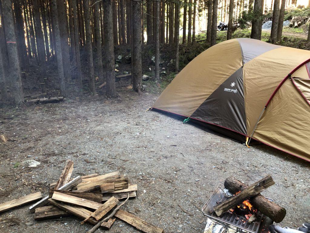 「芦見谷芸術の森」のキャンプ場フリーサイトを利用した一部始終を公開!【京都府京都市右京区京北】