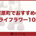【完全版】河原町周辺でおすすめのドライフラワーが買えるお店10選!営業時間や特徴などまとめ!
