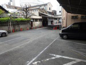 京都BALからアクセスが良いおすすめ駐車場 千疋屋駐車場