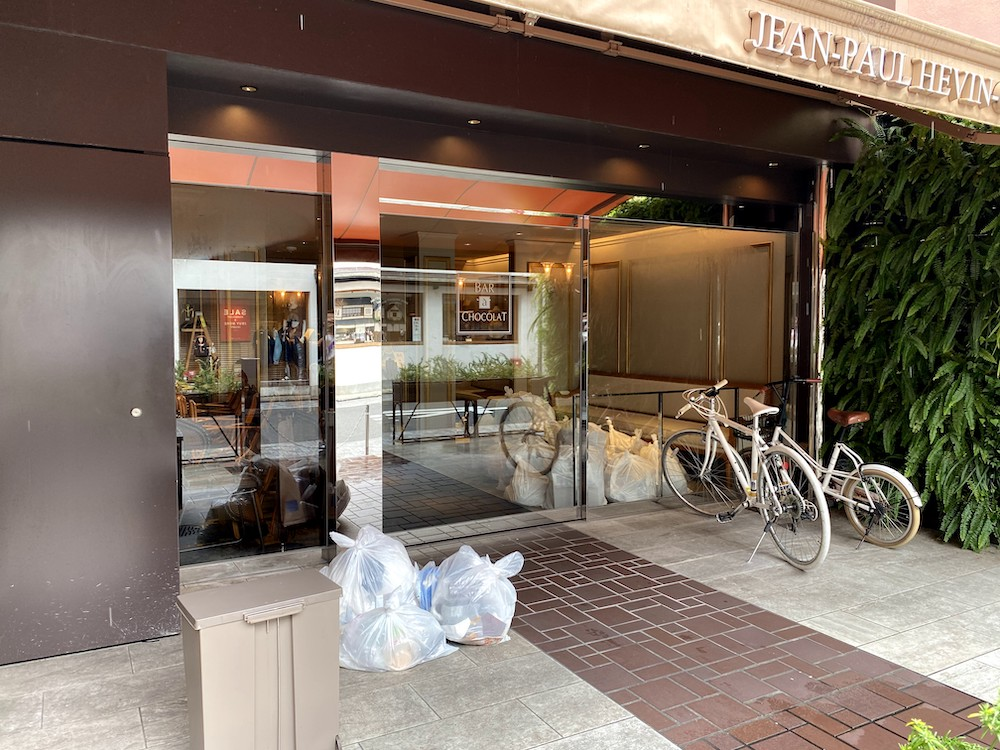 京都市役所前駅の近くにあるショコラで有名な「ジャンポールエヴァン京都本店」が2020年7月26日で閉店【三条】