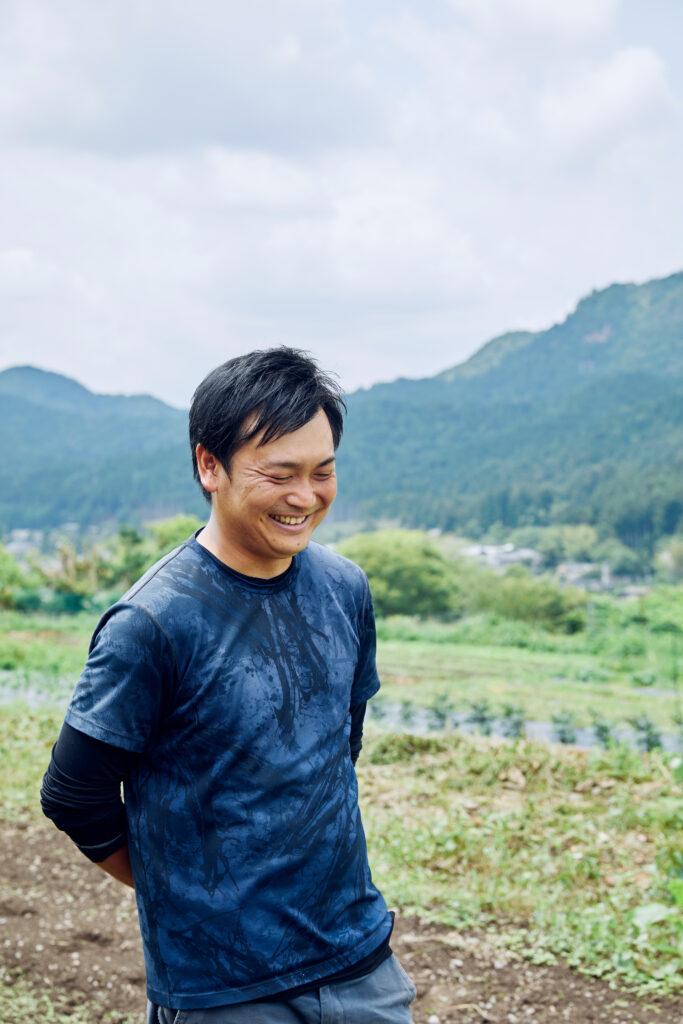 京都 有機農家 パープルファーム藤岡